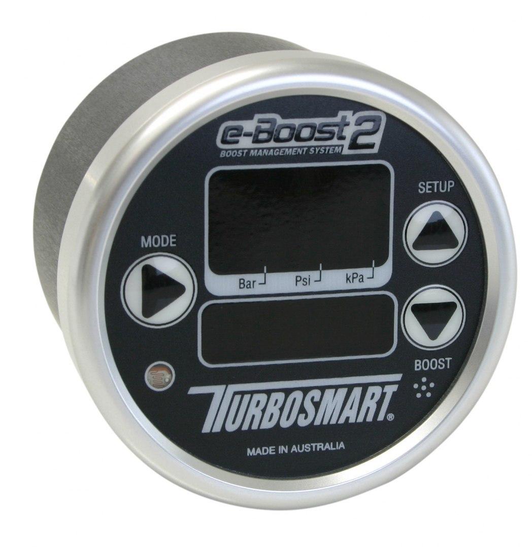 Turbosmart Electronic Boost Controller EBOOST2 60MM Black-Silver - GRUBYGARAGE - Sklep Tuningowy